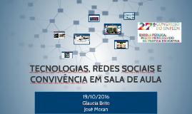Tecnologias, redes sociais e convivência em sala de aula