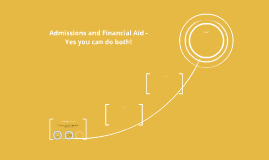 Admissions and Financial Aid -