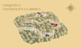 CONQUISTA Y COLONIZACIÓN EN AMÉRICA