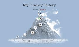 Earliest Literacy Memory
