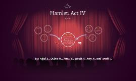 Hamlet: Act IV