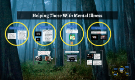 Helping Those With Mental Illness