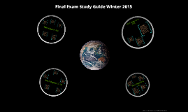 Final Exam Study Guide Fall 14