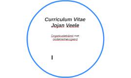Curriculum Vitae Jojan Veele