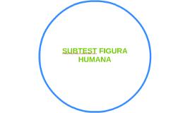 SUBTEST FIGURA HUMANA