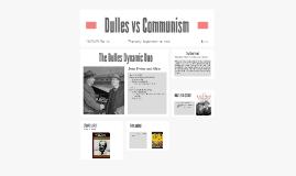 Dulles vs Communism