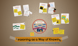 Reasoning as a Way of Knowing