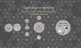 Open Source GeoData