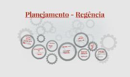 Planejamento - Regência