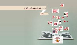Litteraturhistoria # 2