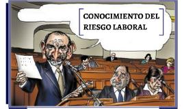 CONOCIMIENTO DEL RIESGO LABORAL