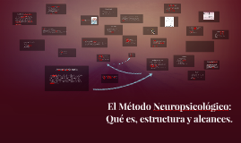 Copy of El método neuropsicológico: