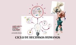 CICLO DE RECURSOS HUMANOS Y NOMINA