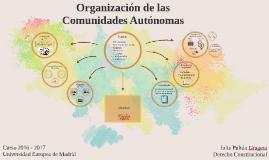 Organización de las Comunidades Autónomas