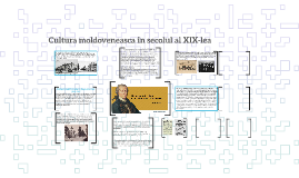 Cultura moldoveneasca în secolul al XIX-lea
