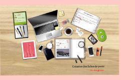 E6 - Création des fiches de poste