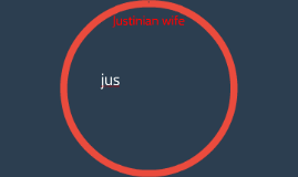 Justinian wife