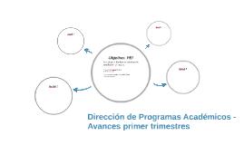 Dirección de Programas Académicos