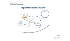 DB - Seguridad