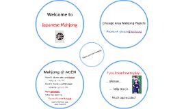 Welcome to Japanese Mahjong