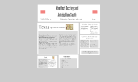 Copy of Copy of Manifest Destiny and the Antebellum South