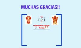Copy of Cadenas Musculares: