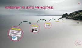 REPRÉSENTANT DES VENTES PHARMACEUTIQUES