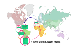 how to get accent marks