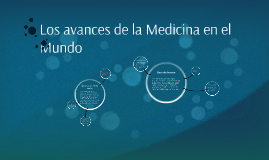 Los avances de la Medicina en el Mundo
