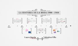 HISTORIA DE LA MODA 1900 - 1910