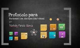 Protocolo para Personas con Discapacidad Visual Trabajo final