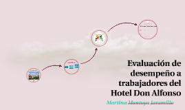 Copy of Evaluación de desempeño a trabajadores del Hotel Don Alfonso