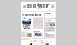 DER EUROPÄISCHE RAT