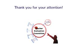 Teacher Evaluation Committee Site Info Presentation