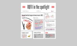 RQFII in the spotlight