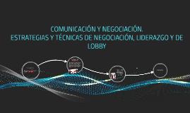 COMUNICACION Y NEGOCIACION.