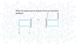 Why its important to donate food to homeless shelters!