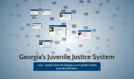 Georgia's Juvenile Justice System