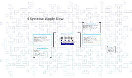 4 Systems: Apply Now