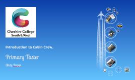 Cabin Crew Taster Day!