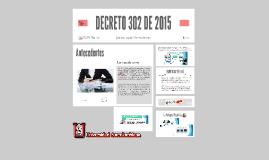 DECRETO 302 DE 2015