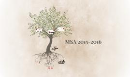MSA 2015-2016