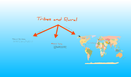 World Team Tribes and Rural