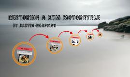 Restoring a KTM Motorcycle