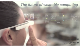 The future of wearable computing
