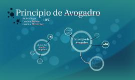 Principio de Avogadro