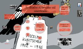 As ditaduras do cone sul americano