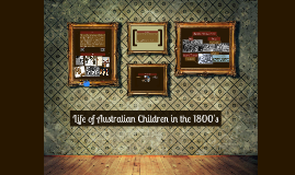 Life of Australian Children in the 1800's