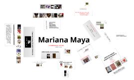 curriculum mariana maya