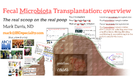 ARCH 3: Fecal microbiota transplantation